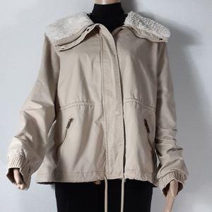 Old Navy flannel fleece collar jacket  XL